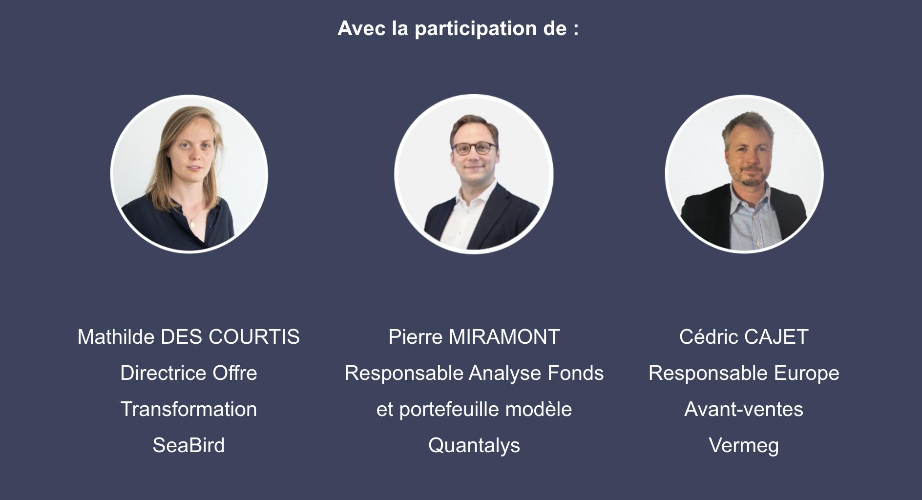 Webinar Lab UC - participation de Mathilde Des Courtis, Pierre Miramont et Cédric Cajet